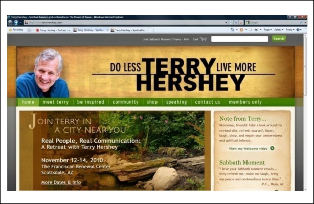 Portfolio. Author Branding, Platform Building and Marketing for Authors - Terry Hershey