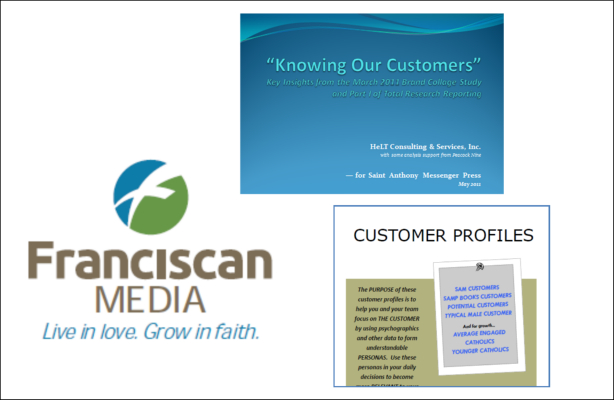 PORTFOLIO PDF: Branding-Rebranding of a Company or Product - Franciscan Media 2010 - 2011 project