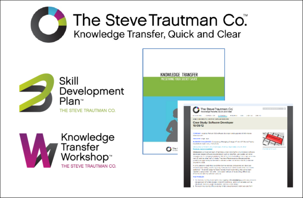 PORTFOLIO PDF: Rebrand for Growth - The Steve Trautman Co. 2010 - 2012 project (rebranding & marketing)