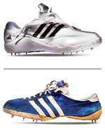 rand values of innovation and inventiveness - branding battles in footwear - market visibility - shoes