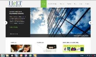 HeLT brand consulting's redesigned homepage - Jan 2013