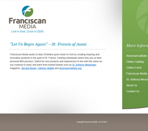 Benefits of a Strong Brand- Franciscan Media - Brand Specialist Blog image