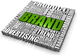 company branding and rebranding - brand specialist - green brand word small square